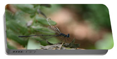 Portable Battery Charger featuring the photograph Damselfly by Neal Eslinger