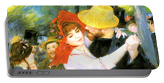 Dance At Bougival Detail Portable Battery Charger