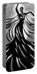Dancer 2 Portable Battery Charger by Anita Lewis