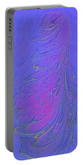 Portable Battery Charger featuring the painting Dancer by Mike Breau