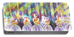 Dancers In The Forest Portable Battery Charger
