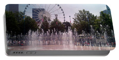 Dancing Fountains Portable Battery Charger