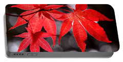 Portable Battery Charger featuring the photograph Dancing Japanese Maple by Rona Black