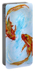 Dancing Koi Sold Portable Battery Charger