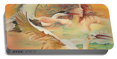Dancing With Birds Portable Battery Charger