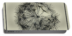 Portable Battery Charger featuring the photograph Dandelion 6 by Kathy Barney