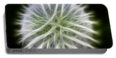 Dandelion Abstract Portable Battery Charger