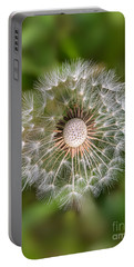 Portable Battery Charger featuring the photograph Dandelion by Carsten Reisinger