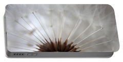 Dandelion Cross Section Portable Battery Charger by Kenny Glotfelty