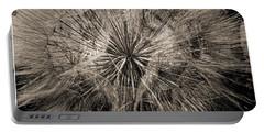 Portable Battery Charger featuring the digital art Dandelion by Maciek Froncisz