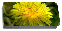 Portable Battery Charger featuring the digital art Dandelion by Ron Harpham