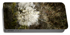 Dandelions Don't Care About The Time Portable Battery Charger