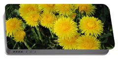 Golden Dandelions Portable Battery Charger