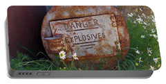 Danger Explosives Portable Battery Charger