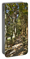 Dappled Portable Battery Charger by Jean Goodwin Brooks