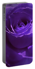 Dark Secrets Purple Rose Portable Battery Charger