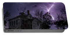 Dark Stormy Place Portable Battery Charger