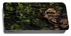 Dark Watery Green Portable Battery Charger