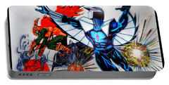 Darkhawk Vs Hobgoblin Focused Portable Battery Charger