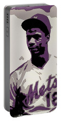 Darryl Strawberry Poster Art Portable Battery Charger