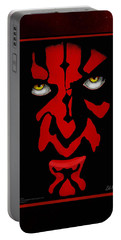 Darth Maul Portable Battery Charger by Dale Loos Jr