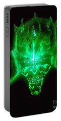 Darth Maul Green Glow Portable Battery Charger