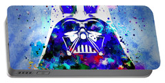 Darth Vader Star Wars Portable Battery Charger by Daniel Janda