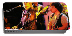 Daryl Hall And Oates In Concert Portable Battery Charger