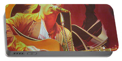 Dave Matthews At Vegoose Portable Battery Charger by Joshua Morton