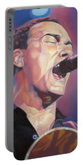 Dave Matthews Colorful Full Band Series Portable Battery Charger by Joshua Morton