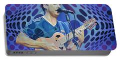 Dave Matthews Pop-op Series Portable Battery Charger by Joshua Morton