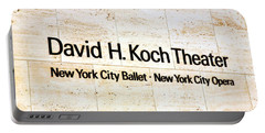 David H. Koch Theater Portable Battery Charger