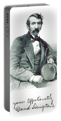 David Livingstone, Scottish Explorer Portable Battery Charger