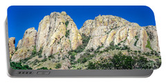 Davis Mountains Of S W Texas Portable Battery Charger