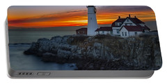 Dawn At Portalnd Head Light Portable Battery Charger