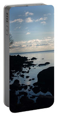 Portable Battery Charger featuring the photograph Dawn At The Cove by James Peterson