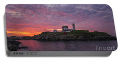 Dawn At The Nubble Portable Battery Charger