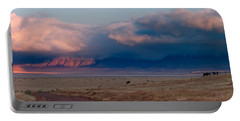 Dawn In Ngorongoro Crater Portable Battery Charger