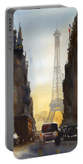Dawn In Paris Portable Battery Charger