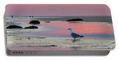 Portable Battery Charger featuring the photograph Dawn In Pink by Dianne Cowen