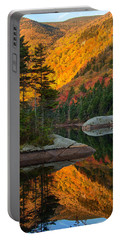 Dawns Foliage Reflection Portable Battery Charger by Jeff Folger