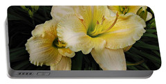 Day Lilies A Short Life Portable Battery Charger