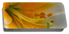 Gold Daylily Close-up Portable Battery Charger