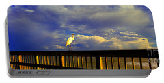 Daytona Beach Rail Bird Sun Glow Pier  Portable Battery Charger