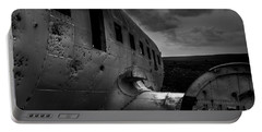 Portable Battery Charger featuring the photograph Dc-3 by Gunnar Orn Arnason