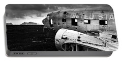 Portable Battery Charger featuring the photograph Dc-3 Iceland by Gunnar Orn Arnason