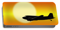 Dc-3 Passing Sun Portable Battery Charger
