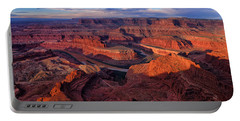 Dead Horse Point Sunrise Portable Battery Charger