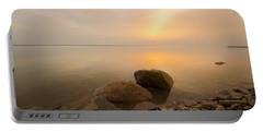 Dead Sea Sunrise Portable Battery Charger
