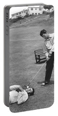 Dean Martin & Jerry Lewis Golf Portable Battery Charger